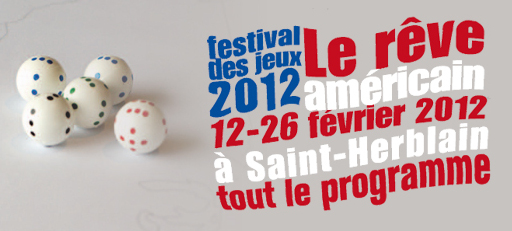 Festival des jeux de St Herblain 2012