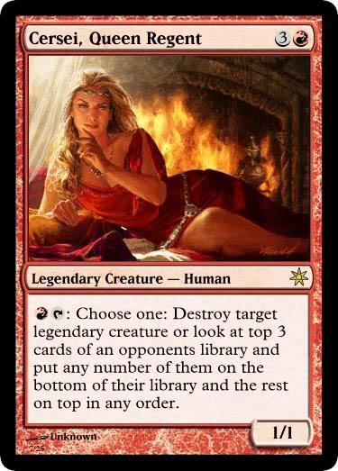 Game-of-Throne-Magic-trading-cards-Cersei