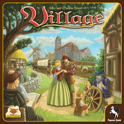 Village Descendance Eggertspiel Gigamic