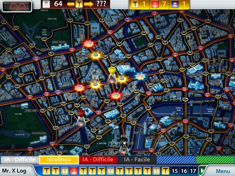 Scotland Yard sur iOS