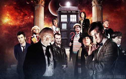 The Twelve Doctor Who Card Game