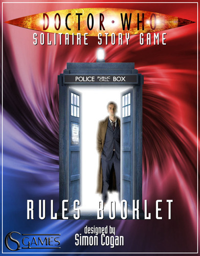 Doctor Who : Solitaire Story Game