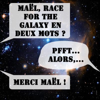 Race en deux mots (véridique !) par Maël.