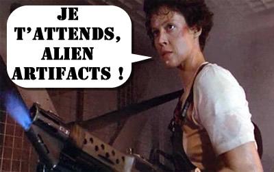 Ripley aussi attends Alien de pied ferme !