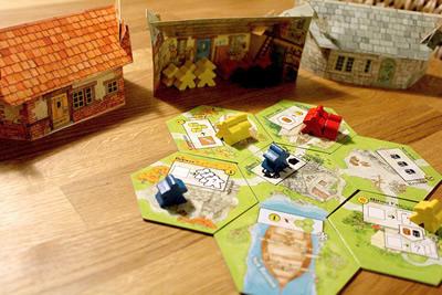 """Un jeu qui s'appelle """"clef fleur"""" au lieu de Mayflower mais avec des Keymeeples."""