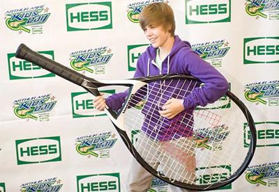 Olivier avait raison : Justin Bieber est un champion de tennis (miniature)