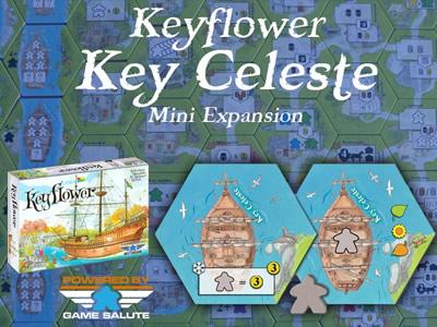 C'est toi qui a la clef, Céleste ? Une mini-extension pour faire parler de Clef-Fleur.