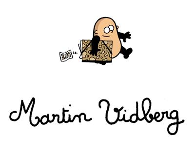 Auto-portrait de Martin Vidberg