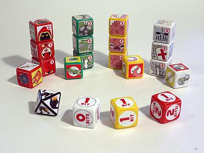 De 20 à 200 dès : tes dix doigts se décident à éditer ce jeu de dès ?