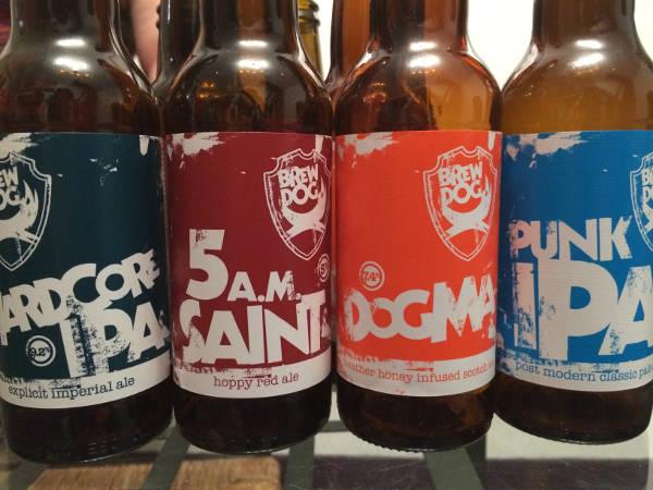 Brew Dog, des bières faites par des punks :)