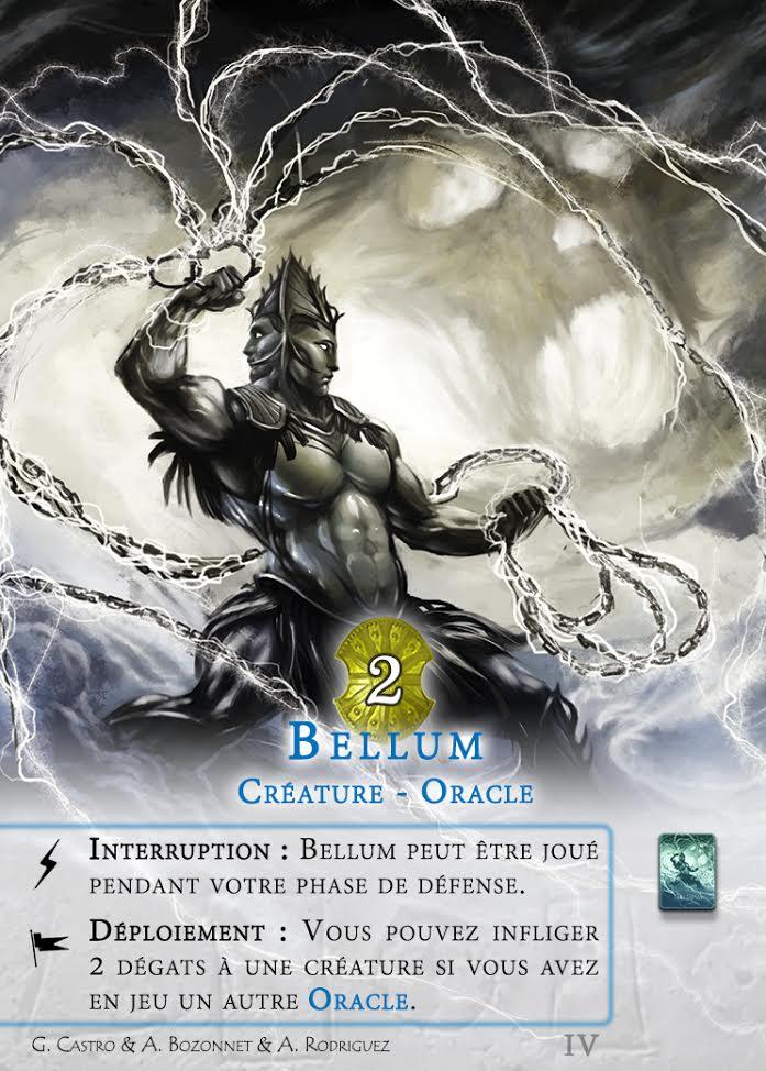 Bellum, la carte éponyme