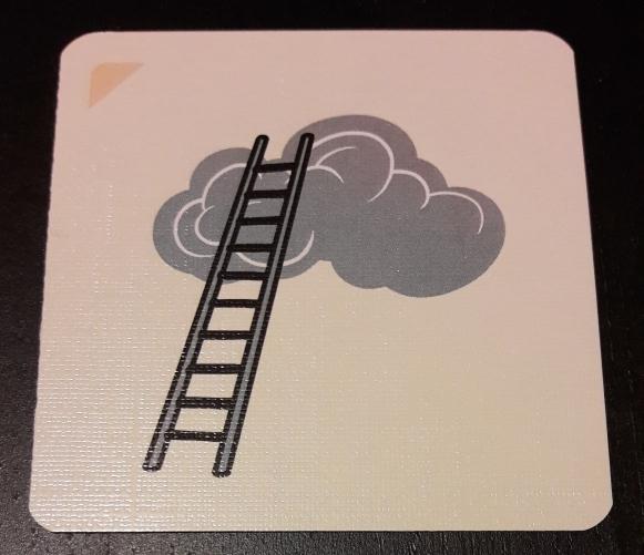Une échelle sur un nuage...!? Les gars, faudrait voir à arrêter la fumette... -_-'