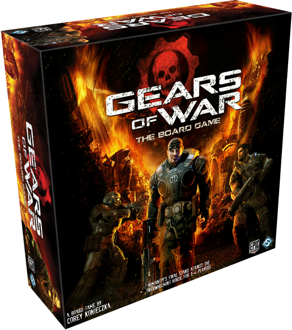 Gears of War the Boardgame