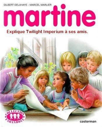 Martine explique TI à ses amis