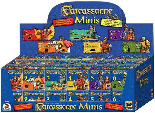 Carcassonne Minis