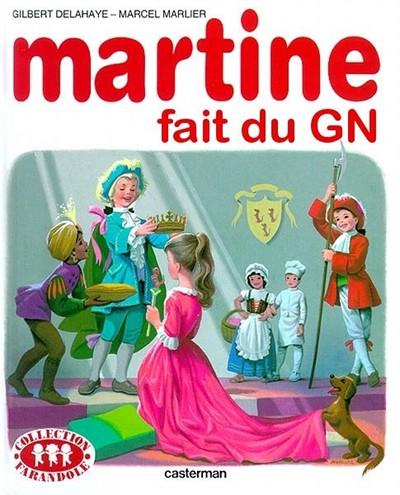 Martine fait du GN