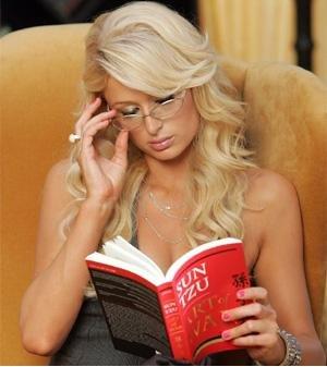 Paris Hilton Sun Tzu
