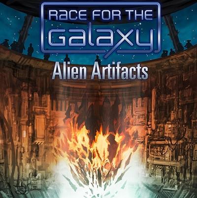 Alien Artifacts, l'extension que tout les Racers Galactiques attendent depuis 3 ans (ou pas).