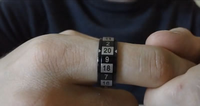 Dice Ring (la bague D20)