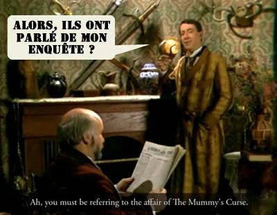 Un acteur-né pour Sherlock Holmes.