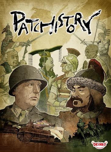 L'illustration de la boîte où Rommel a été remplacé par Patton (mais en laissant les Tigre)