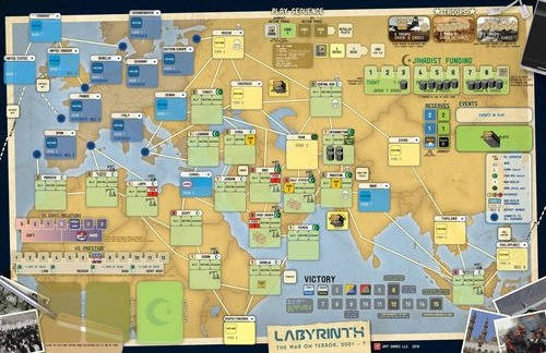 La carte (fonctionnelle) de Labyrinth - The War on Terror