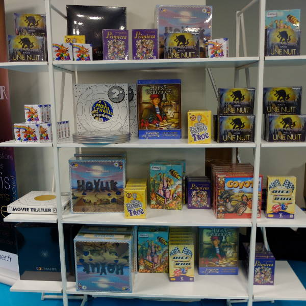 Les jeux actuellement distribués par Atalia