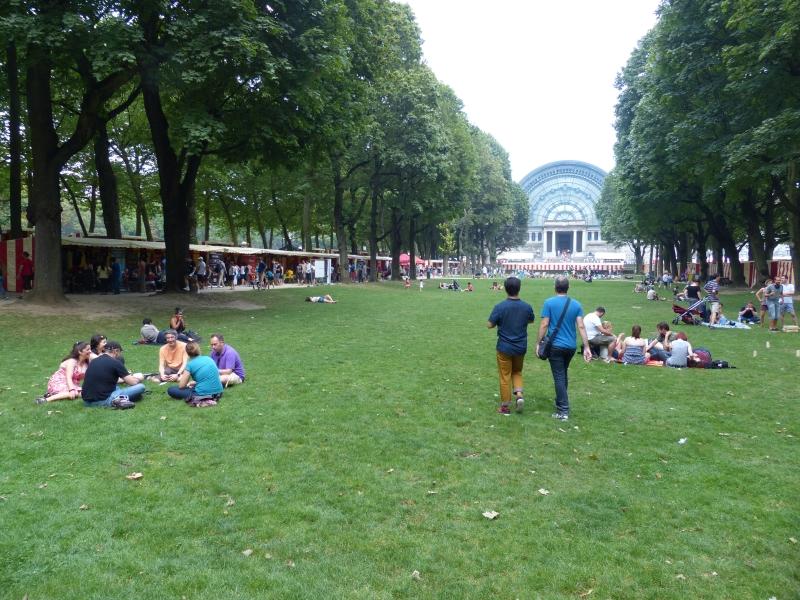 BGF, dans le parc du cinquantenaire, festival en plein air