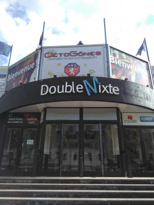Le Double Mixte où se déroulait la convention