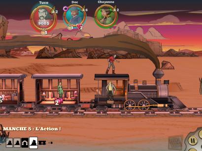 Une scène du jeu