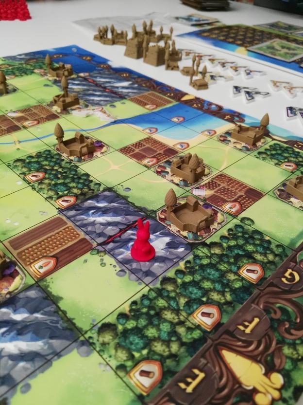 Bunny Kingdom, dont la production des éléments a été un challenge
