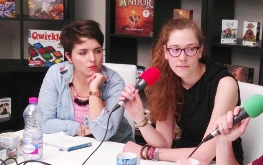 Allison Machepy (à gauche) et Virginie Gilson (à droite)