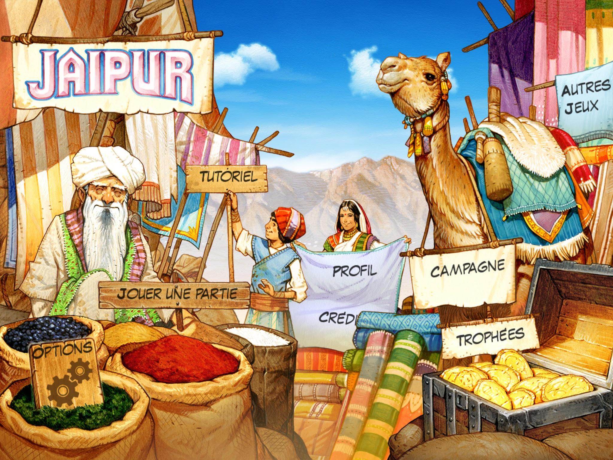 Jaïpur, dont les illustrations ont été retravaillées par Vincent Dutrait