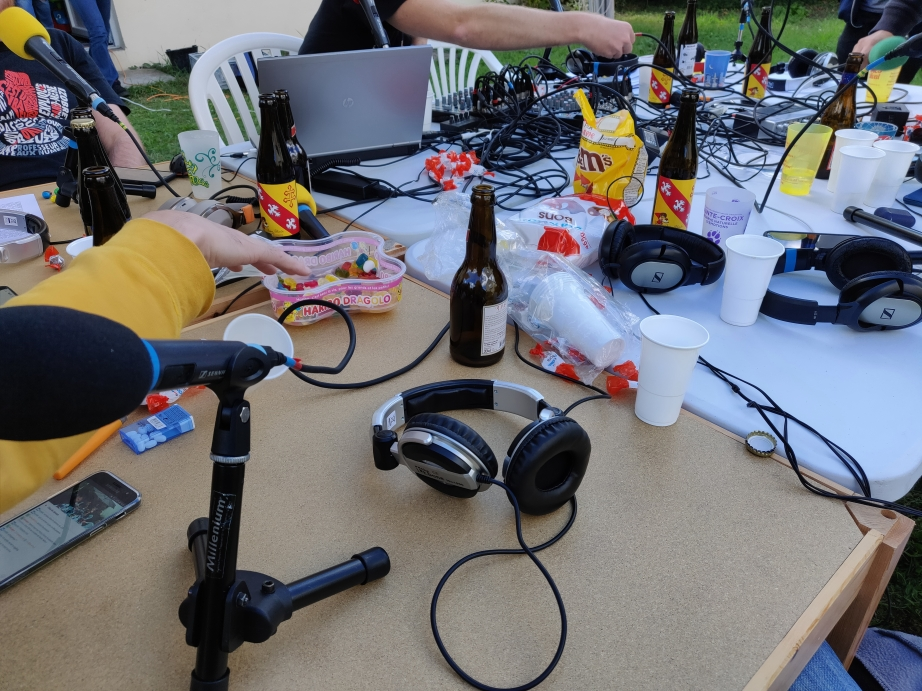 La table d'enregistrement