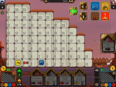 Impression d'écran du jeu - zone de gestion des ressources