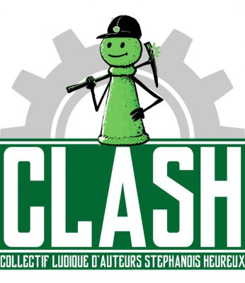 Logo du Collectif Ludique d'Auteurs Stéphanois Heureux