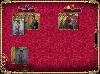 Impression d'écran du jeu en cours de partie