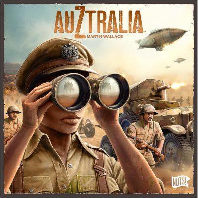 couverture de boite du jeu Auztralia