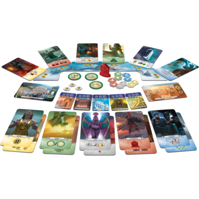 Pantheon - 7 wonders duel