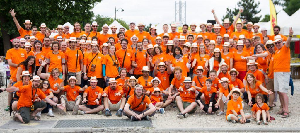Photos des bénévoles de Paris est Ludique