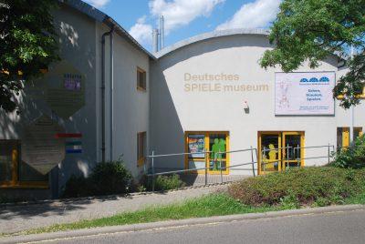 La façade du Deutsches Spielemuseum à Chemnitz