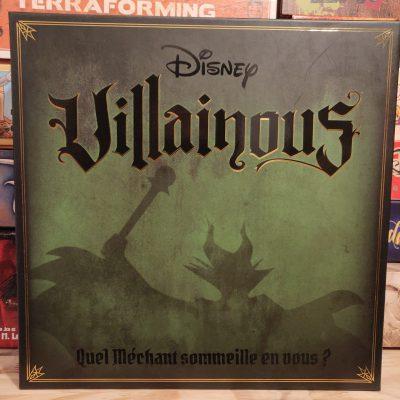 Couverture du jeu Villainous