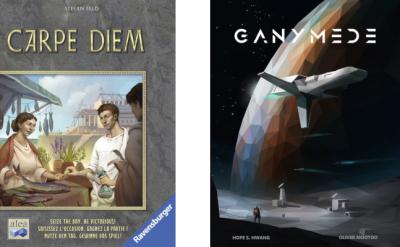 couvertures de Carpe Diem et Ganymede