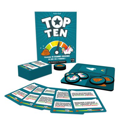 Visuel du matériel du jeu Top Ten
