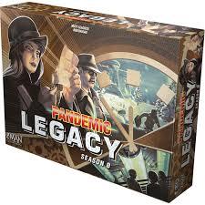 La boîte de Pandemic Legacy - Saison 0