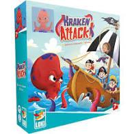 La couverture de Kraken Attack !