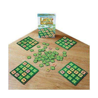 Matériel du jeu Lucky Numbers