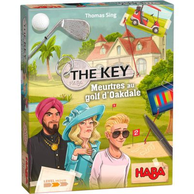 Couverture de la boîte de The Key - Meurtres au golf d'Oakdale